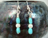 Turquoise Tidepool Earrings