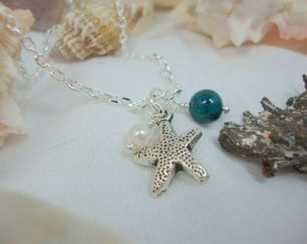 The Starfish Necklace Friend Bridesmaid Wedding Jewelry