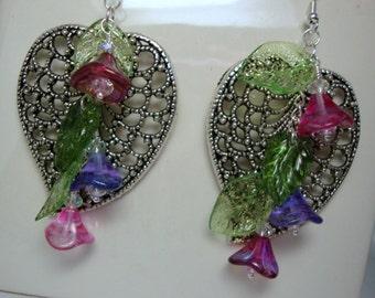 Floral Spring Dance Earrings