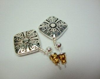 Silver Renaissance Earrings