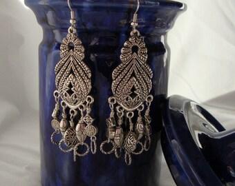 Delilah Exotic Chandelier Earrings