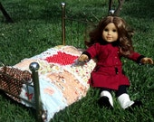 Baby Doll Rag Quilt with Farm Fresh Fabric Collection