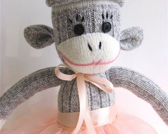 Sockmonkey Princess CUSTOMIZED FOR YOU