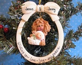 Lion and Lamb Personalized Ornament  Symbol of Peace on Earth