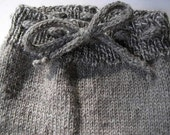 Hand Knit Wool Soaker from BFL Wool Small to Med