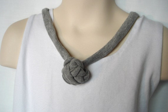 gray sensory necklace - oral motor therapy