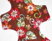 Batik Flowers Flannel Reusable Cloth Goddess Pad