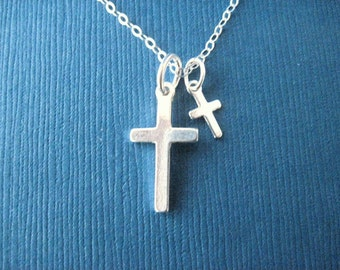 Wedding Jewelry Flower Girl, Reader's Sterling Silver Cross Pendant  Necklace