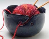 Midnight Blue Yarn Bowl