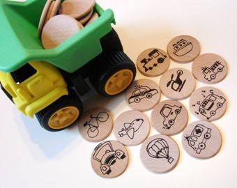 Make a Match - Transportation Edition - A Montessori and Waldorf Inspired Matching and Memory Game