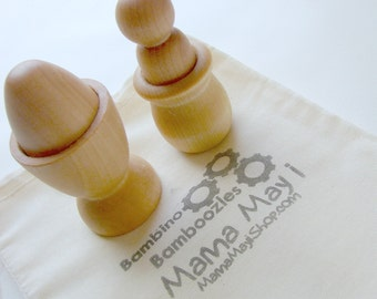Bambino Bamboozles - A Montessori and Waldorf Inspired Put Together Toddler Puzzle