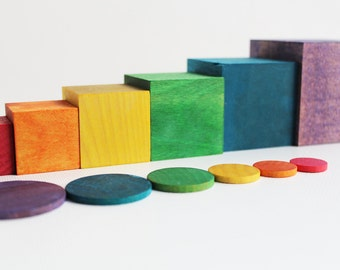 Cubes and Coins - a Montessori and Waldorf inspired tool in differentiation