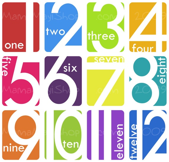 The Number Dozen - Counting Tool and Art Cards