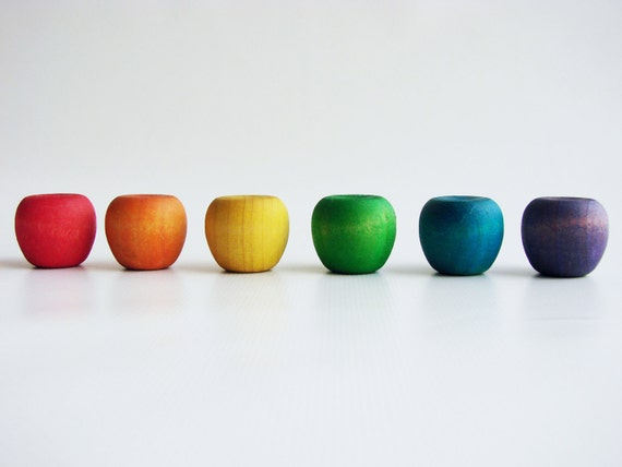 Counting Apples - A Montessori and Waldorf Inspired Wooden Counting and Learning Toy