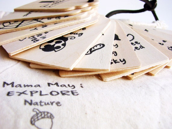 Mama May i EXPLORE - Nature Edition - A Montessori and Waldorf Inspired Scavenger Hunt Game