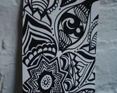 5x7 Drawing, Art Card