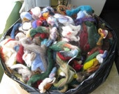 Wool Roving Grab Bag