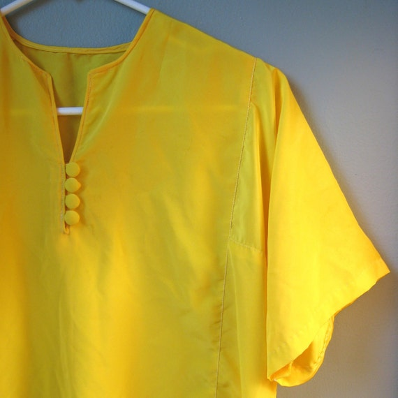 Yellow Evening Blouse 106