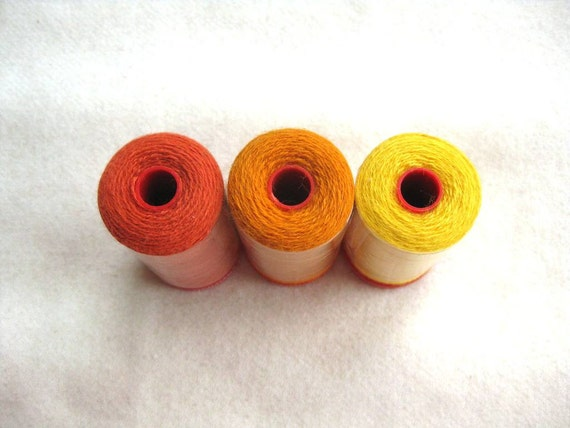 Genziana Wool Thread for Wool Applique and Embroidery