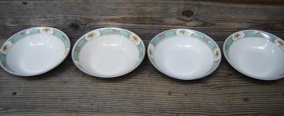 Johnson Bros England China Bowls, Romantic Design