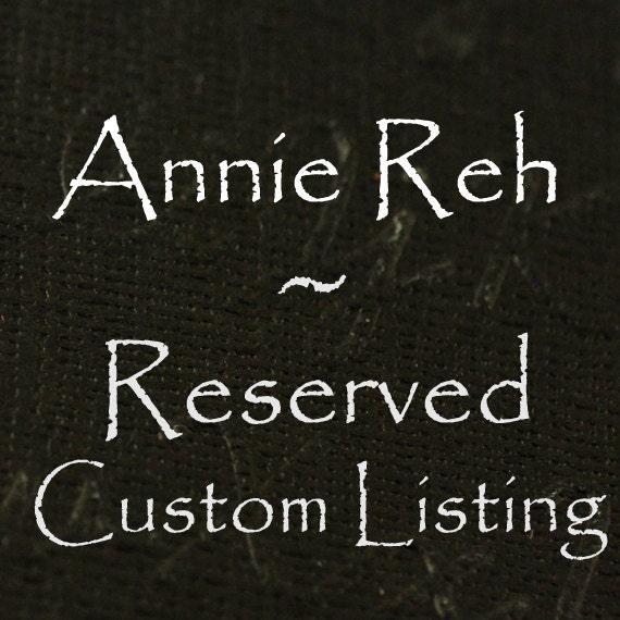 reserved for Natasha Rumpke