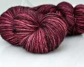 Alpaca/Silk/Cashmere Fingering Yarn  - S'marvelous - Espresso Glazed Rose