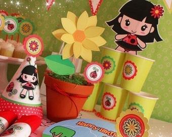 Ladybug Party Kit Printable 0074