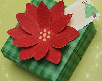 0083 Christmas Gift Tags and Gift Wrapping Kit- PDF Printable