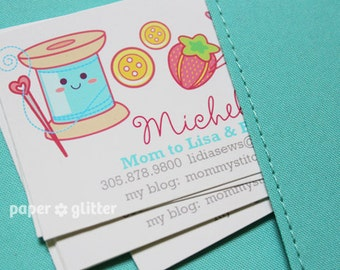 Calling Mommy Card Printables personalized with your details by Paper Glitter
