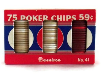 Pressed paper Poker Chips