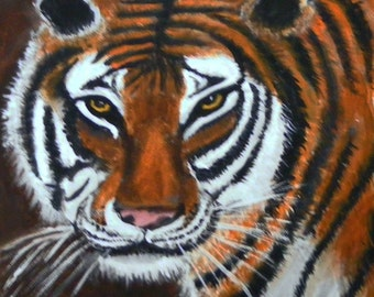 Original Painting the Tiger