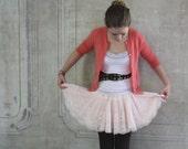 Ballet Pink Mini Skirt- Small