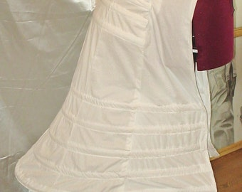 Victorian Bustle Cage Frame with Train Support 1800 SASS Post Civil War for Bustledresses