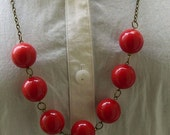 A Cherry picking trip Necklace - FREE Shipping