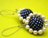 Magic Sunflower Earrings (blue)  - FREE Shipping