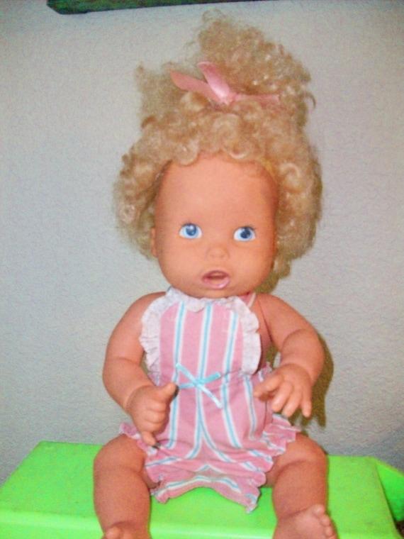 Kenner Doll Vintage Baby Alive Drink Wet By Treasureattic