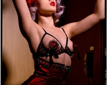 Moulin Rouge Pasties by Deanna Danger Designs (Sizes S or M)