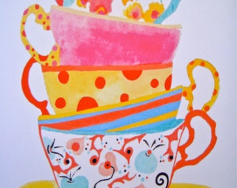 Whimsey Tea Cups