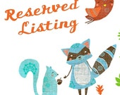 RESERVED LISTING for kschway