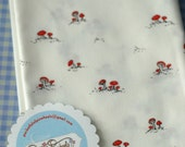 RESERVED for Tuppence - Storybook Mushrooms, 1 Yard