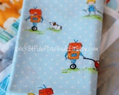 the Misadventures of Rory Turnip, ORIGINAL fabric - FAT QUARTER