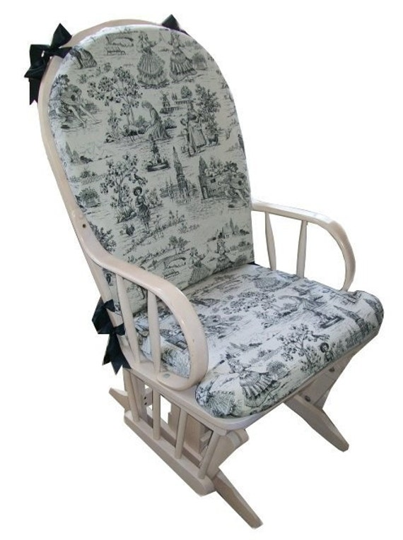 Items similar to Round-Top Rocking Chair Slipcover on Etsy