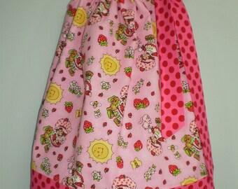 READY TO SHIP- Size 3  Strawberry Shortcake Pillowcase Dress Size 3