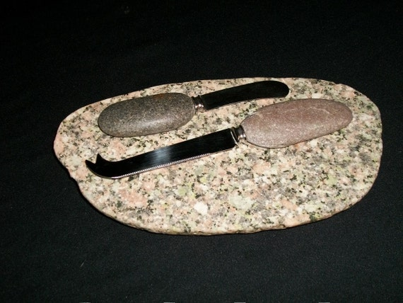 Stone Cheeseboard / Cutting / Serving