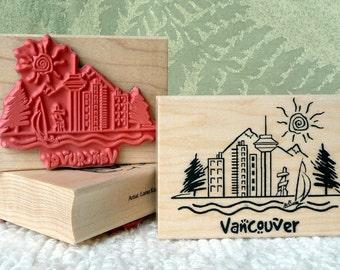 Vancouver rubber stamp from oldislandstamps