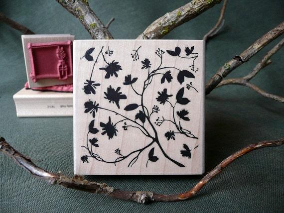 Secret Garden rubber stamp from oldislandstamps
