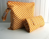 Diaper Changing Pad and Wet Bag - Choose From Fabric Selection - Made to Order