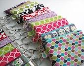 Wristlet Clutch - Small Zippered Clutch - Zippered Wallet - Mommy Clutch - CUSTOM