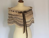 Brown Capelet