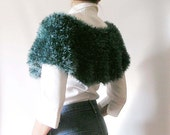 Deep Teal Capelet - Poncho - Teacher's Style